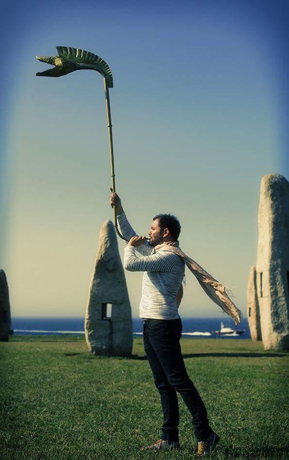 Abraham Cupeiro presenta a banda sonora da Muralla de Lugo