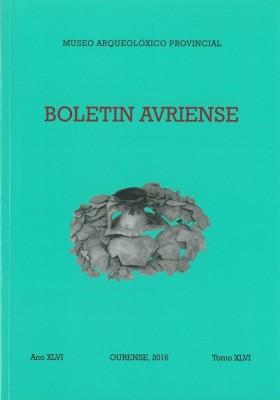 Quiosco: Boletín Auriense Tomo XLVI