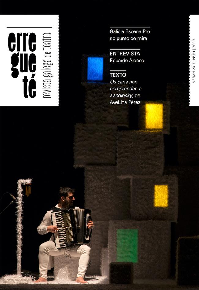 A Revista Galega de Teatro saca o seu número de verán