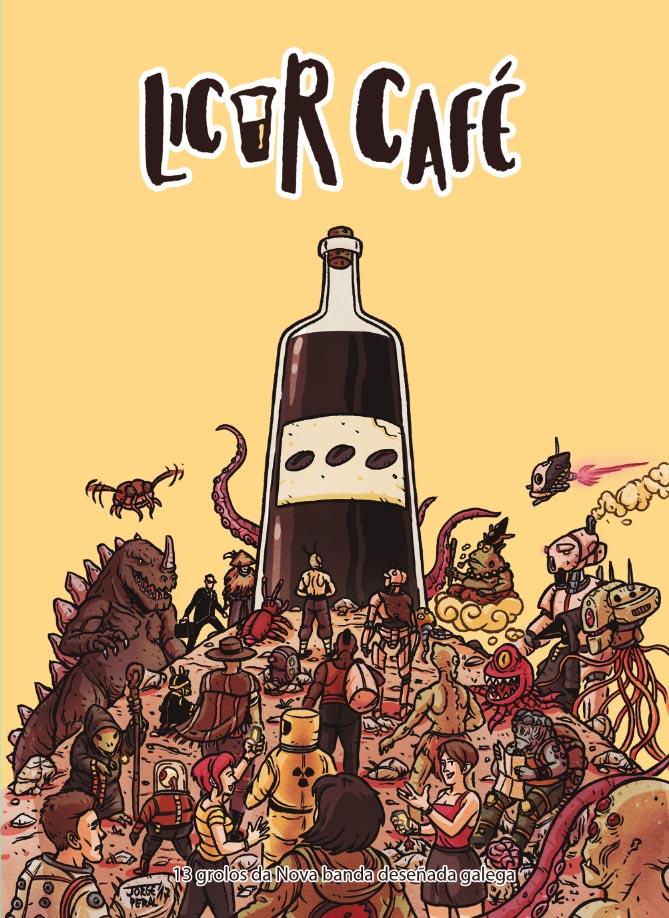 Demo Editorial presenta nova colección coa escolma <i>Licor Café</i>