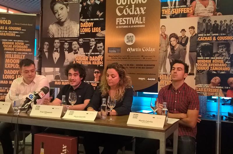 O evento de música negra de Compostela ofrece seis citas entre o 26 de outubro e o 18 de novembro