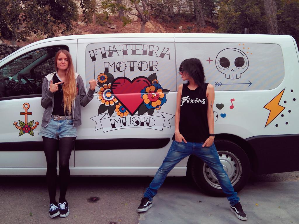 Agoraphobia, Terbutalina e Bala súbense a Fiateira Motor Music