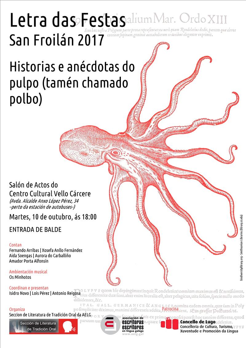 A sétima edición desta actividade de narración literaria celebrarase en Lugo coincidindo coas festas