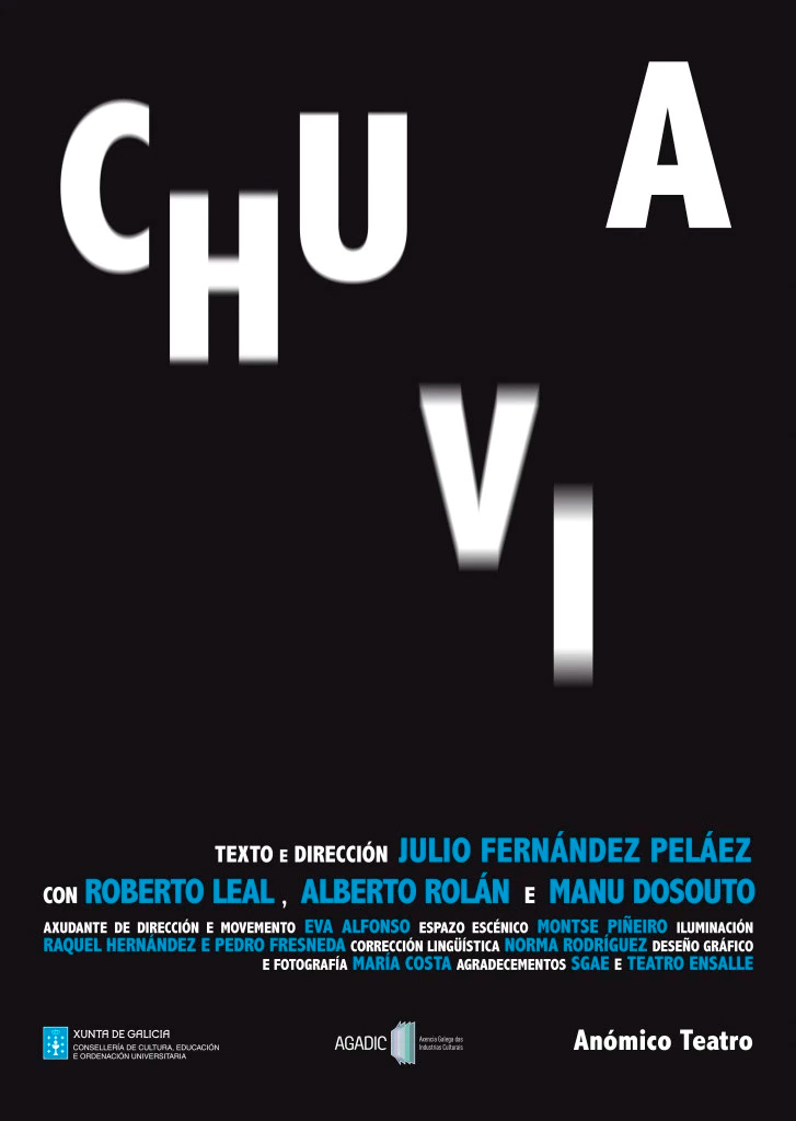 Anómico Teatro estrea 'Chuvia' no Salón Teatro
