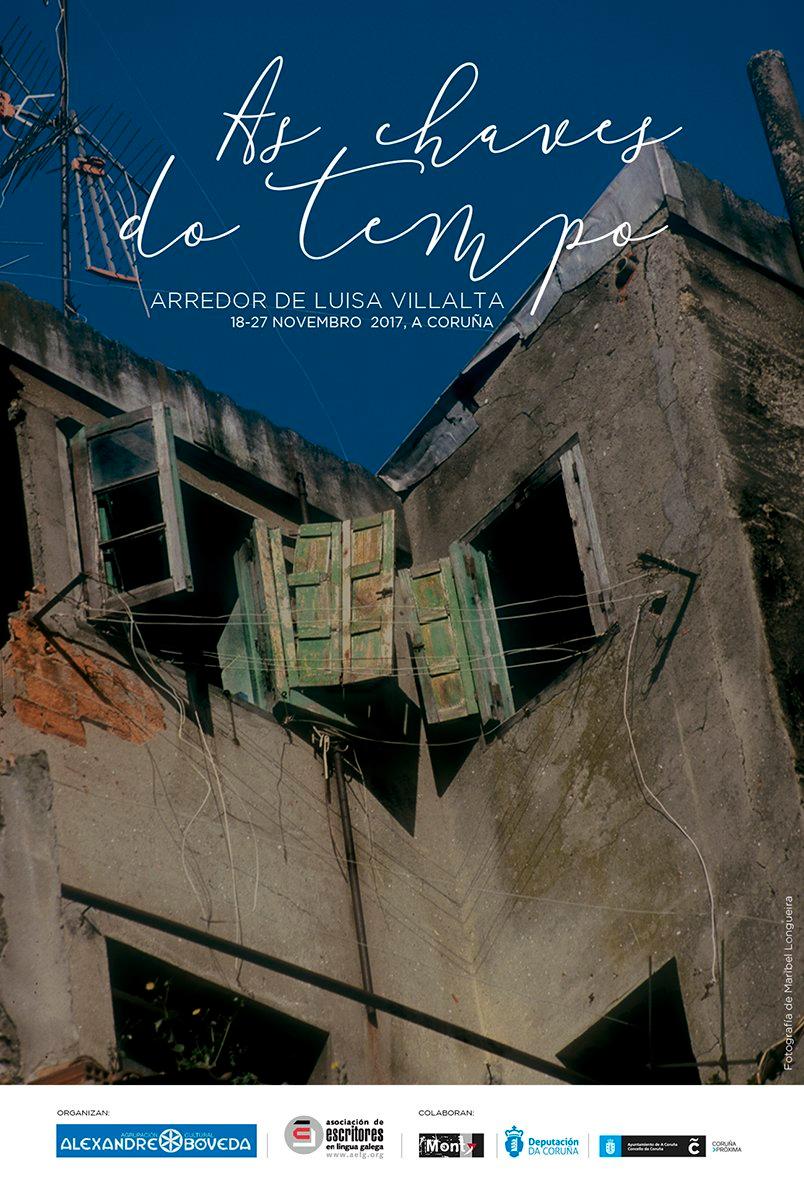 Unha semana para lembrar a pegada coruñesa da poesía de Luisa Villalta