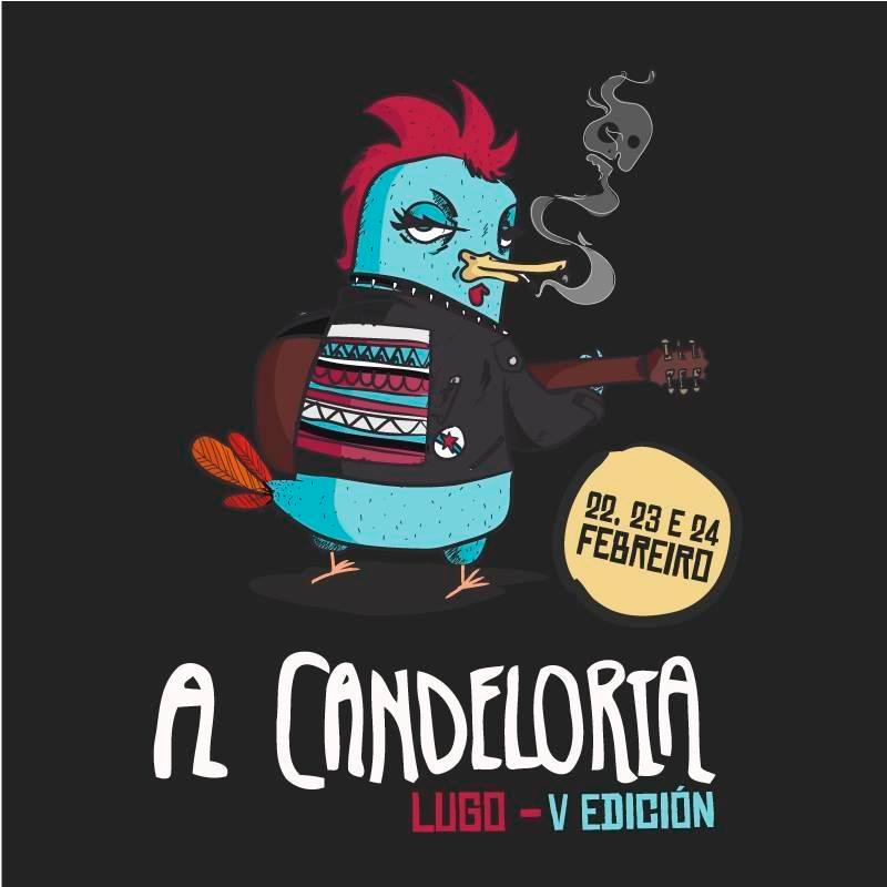 Propostas trasgresoras nacionais e internacionais para o cartel do Vº A Candeloria de Lugo