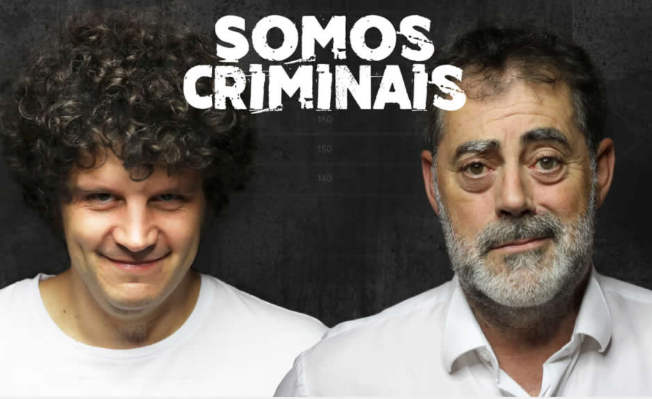 Carlos Blanco e Xosé A. Touriñán preparan o espectáculo