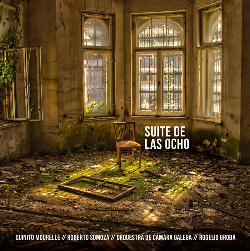 Quinito Mourelle presenta hoxe en concerto o disco 'Suite de las ocho'