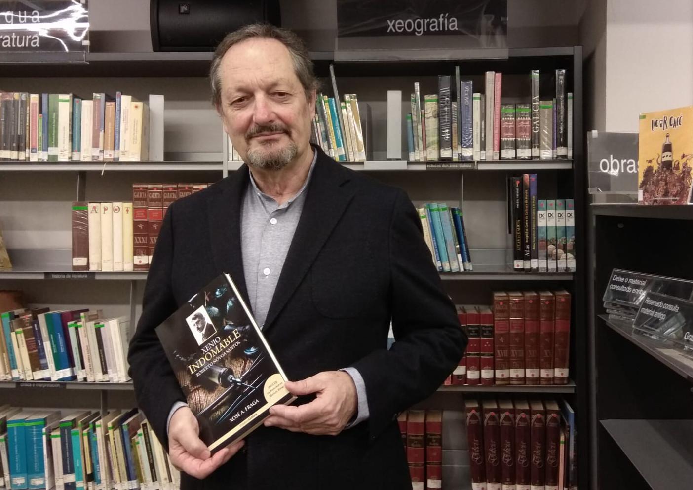 Xosé Fraga asina a biografía 'Xenio indomable', unha ollada crítica ao científico coruñés