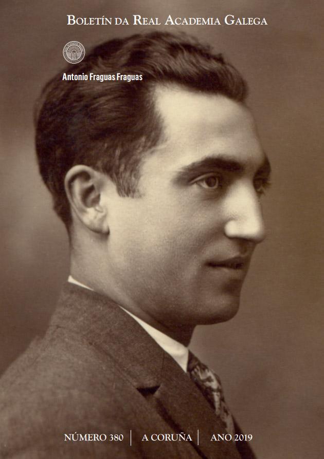 Está centrado na figura de Antón Fraguas
