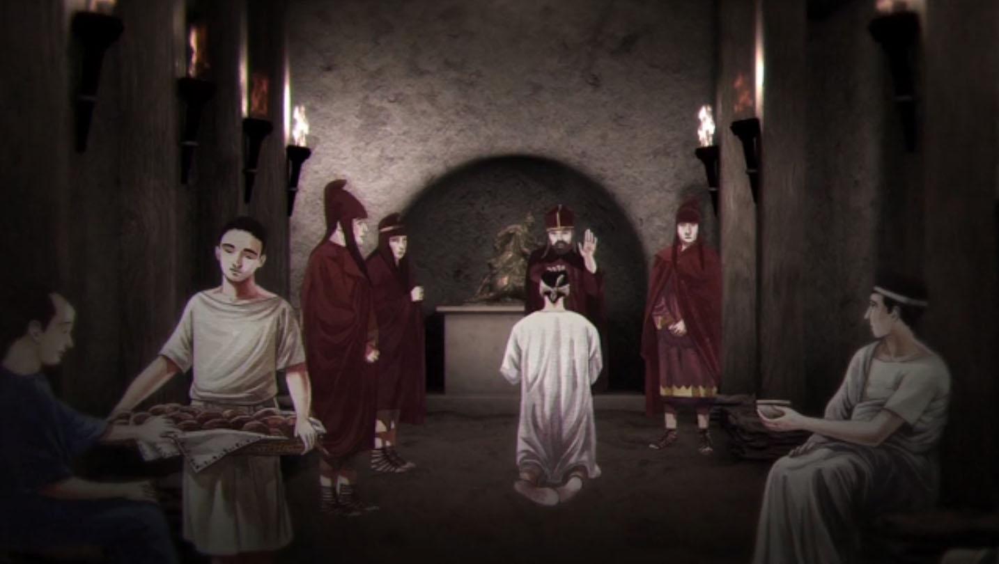A USC publica vídeos explicativos que recrean a vida nesta casa de Lucus Augusti