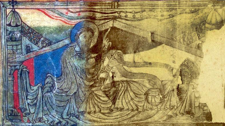 Localizada a efixie desaparecida do emperador no Códice Calixtino