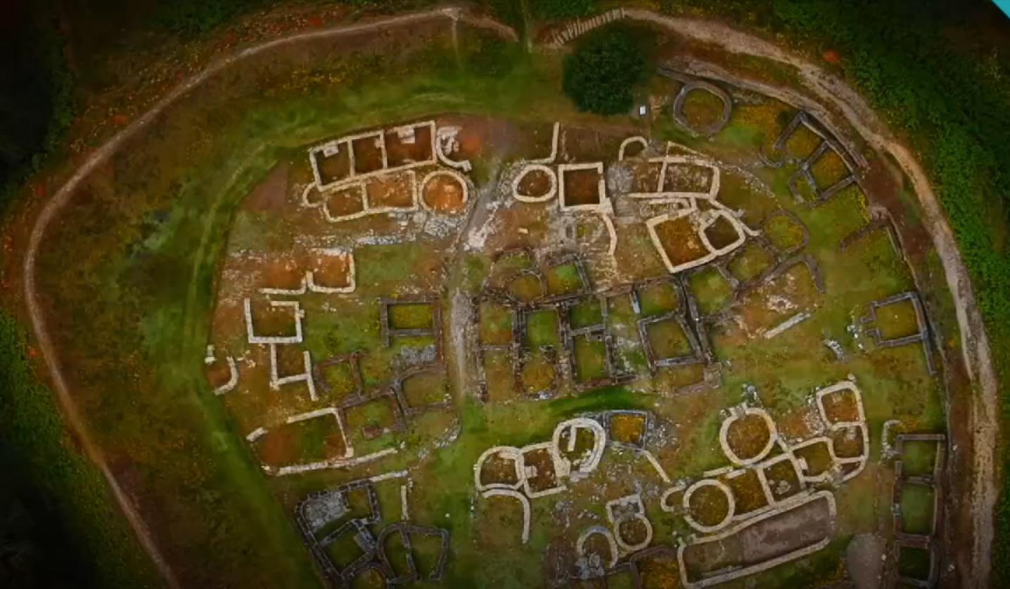 O primeiro episodio céntrase nos inicios da investigación científica sobre a Idade do Ferro