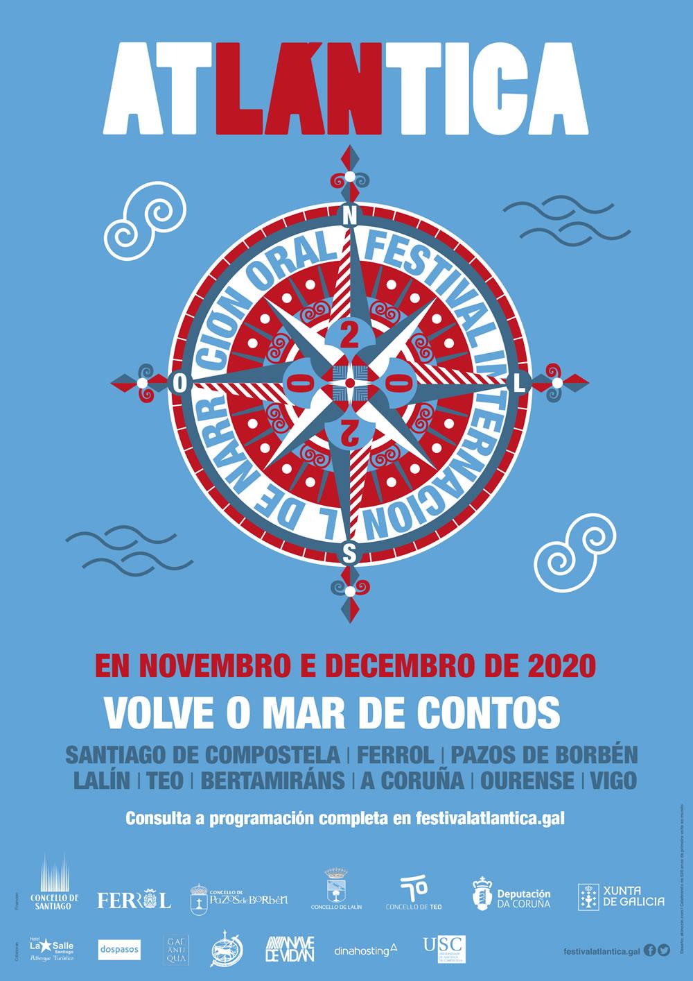 O Festival Atlántica de narración oral retoma a súa programación interrompida pola pandemia
