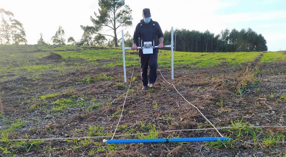 Carlos Otero explícanos como usa a tecnoloxía para saber o que agocha o castro de Cerqueda sen escavalo