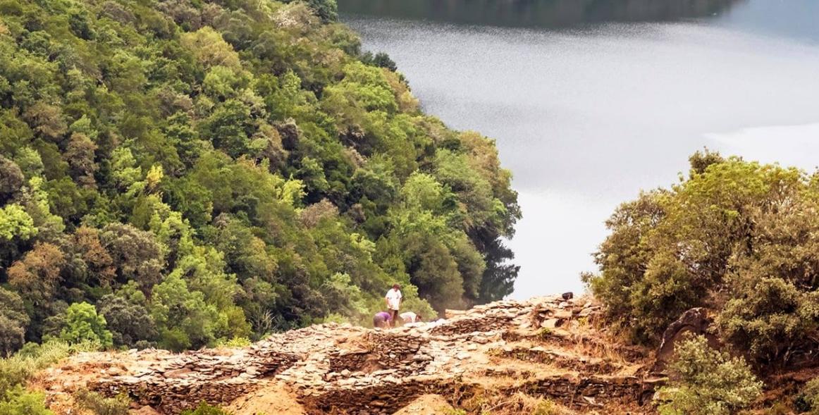 Unha investigación ofrece os primeiros resultados científicos sobre as orixes da paisaxe vinícola da Ribeira Sacra