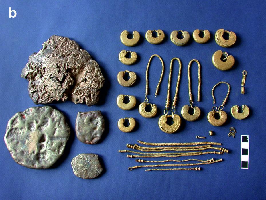 Un estudo sobre os metais preciosos na Idade do Ferro revela os cambios no uso da prata e o ouro a partir da presión romana nas fronteiras do noroeste peninsular