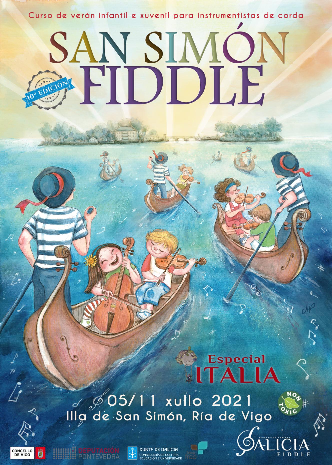 O San Simón Fiddle cumpre o seu décimo aniversario cun disco conmemorativo