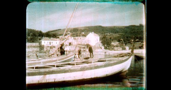 Recuperan a cor do documental <i>Pontevedra, cuna de Colón</i>