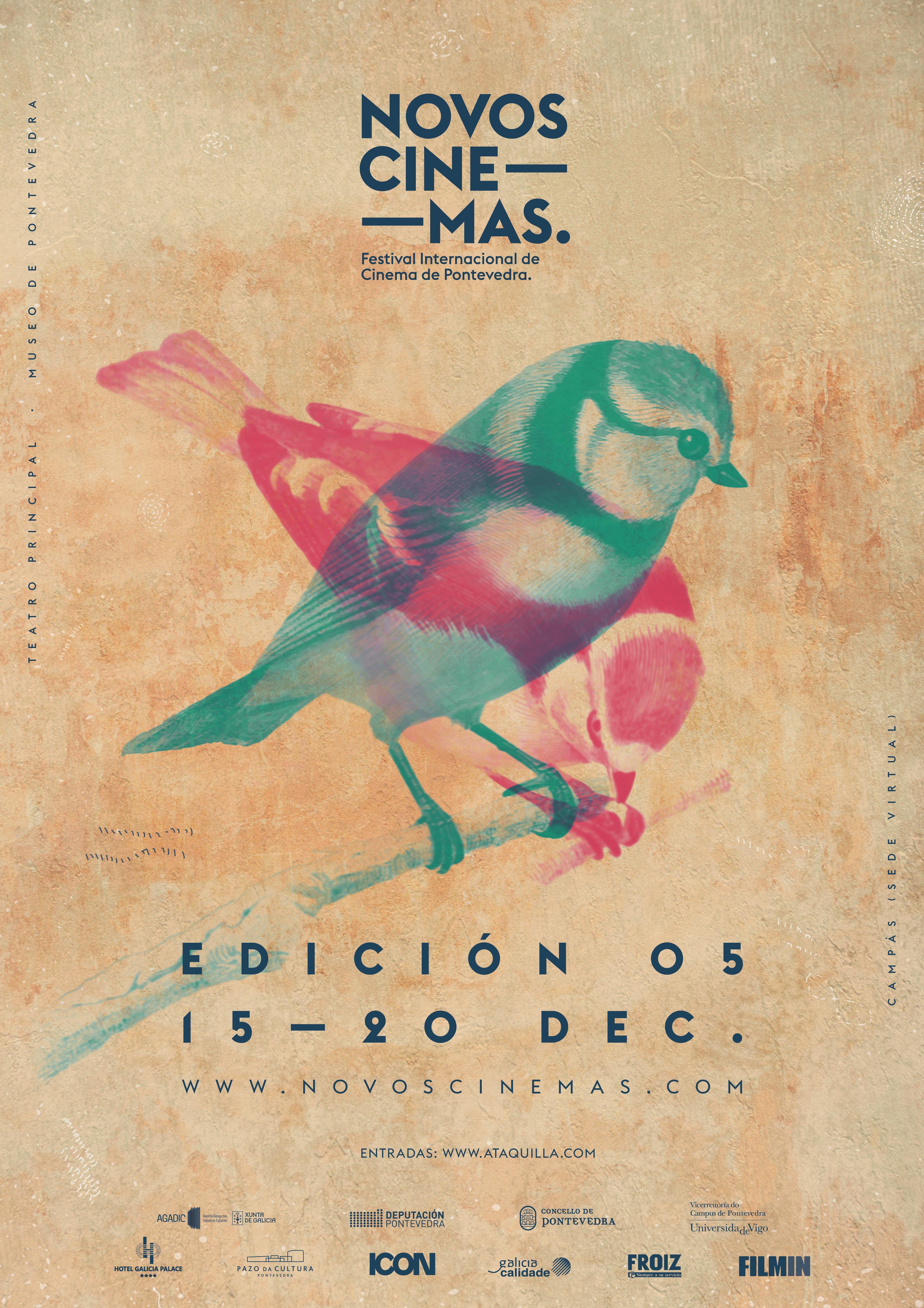 O evento emitirá os seus contidos nunha canle propia da plataforma Filmin entre o 15 e o 20 de decembro