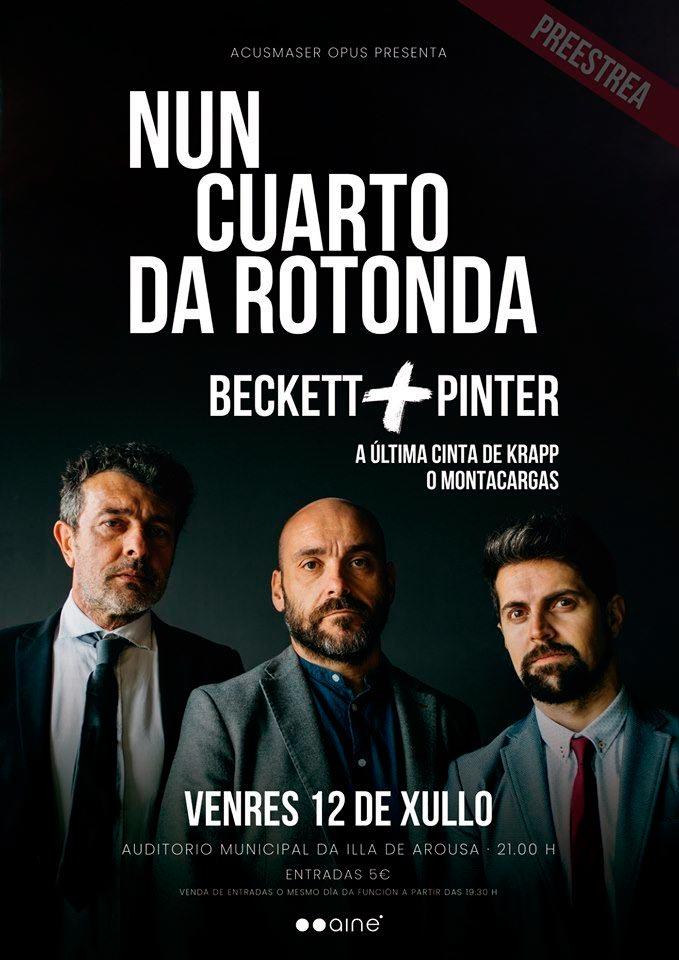 Este venres fai a preestrea na Illa de Arousa a obra progonizada por Federico Pérez, Evaristo Calvo e Santi Romay