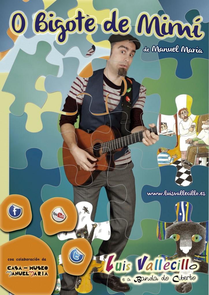 Luís Vallecillo adapta esta obra de Manuel María para os máis cativos