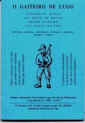 O popular calendario homenaxea a Díaz Castro na súa edición de 2014