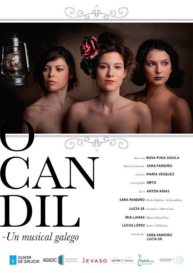 Estréase a comedia musical 'O candil' da Escola Galega de Teatro Musical