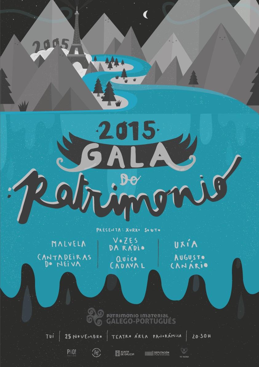 Unha gala reclama o recoñecemento do patrimonio galego-portugués