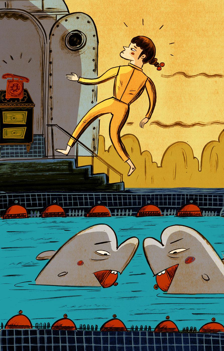 Fantoches Baj estrea <i>Os golfiños e o xigante</i>