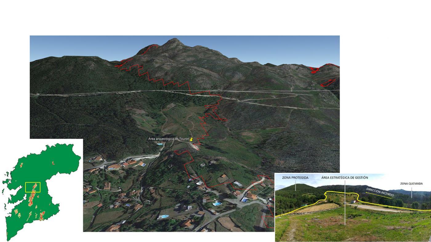 A análise permitirá optimizar as medidas de xestión forestal e do patrimonio