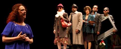 Teatro de Ningures aborda o mundo de parella na súa última montaxe