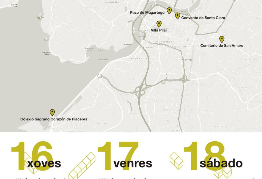 O Concello de Pontevedra programa visitas ao seu Patrimonio Invisible