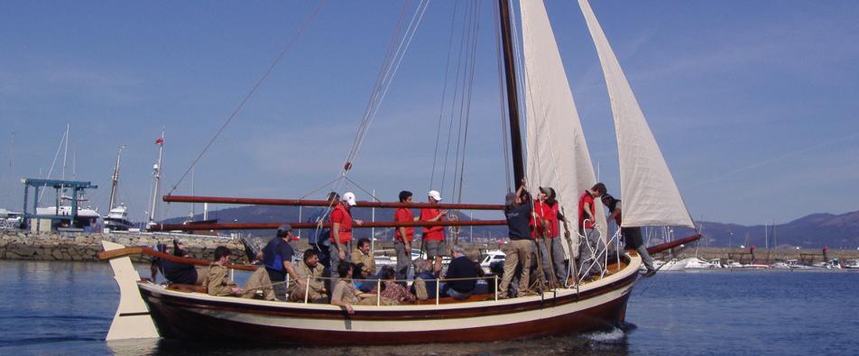 O encontro bienal de embarcacións amosa a boa saúde do movemento a prol do patrimonio do mar