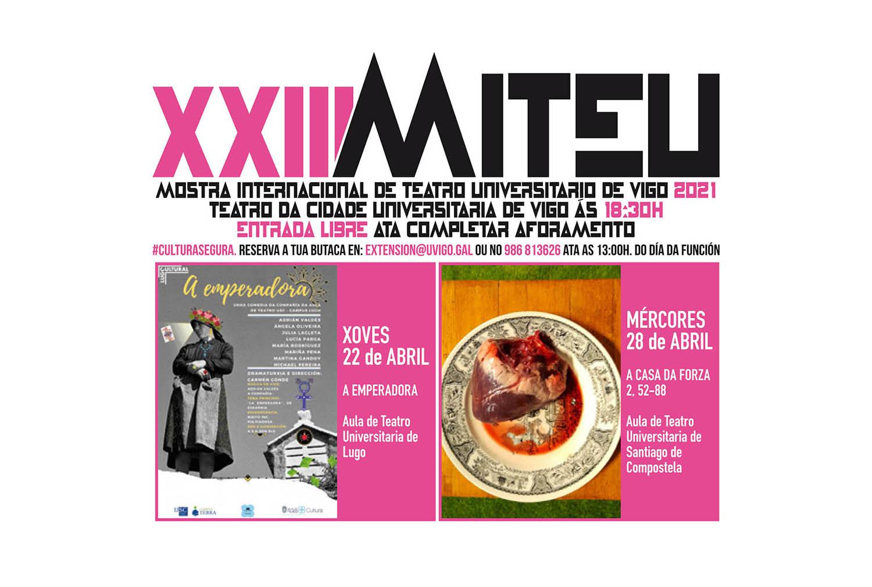 A Universidade de Vigo retoma a cultura presencial coa XXIIIª Miteu