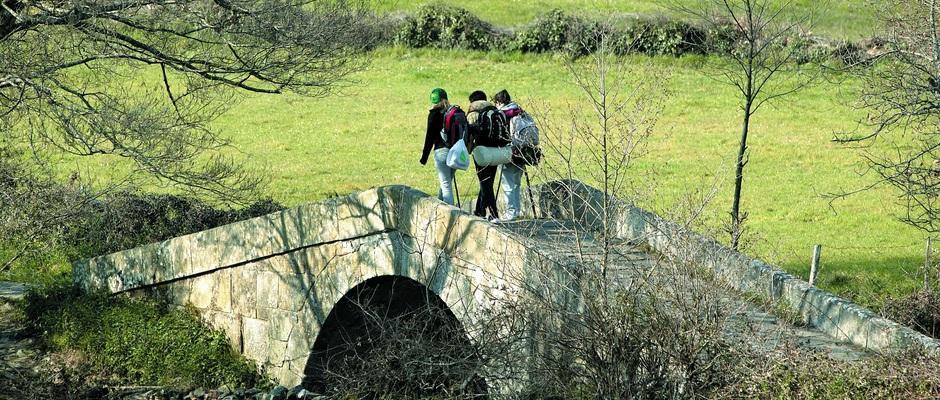 Algunhas das características do fenómeno da peregrinación mantéñense desde a Idade Media