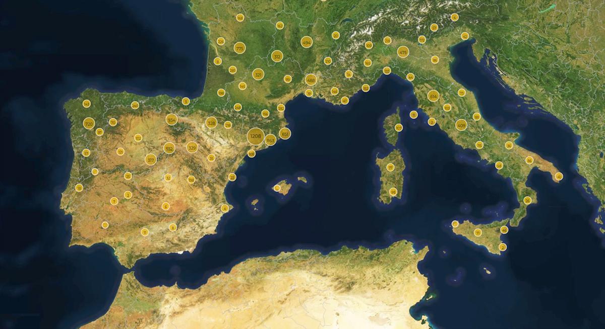 O proxecto europeo de investigación xeolocaliza construcións pétreas de toda Europa