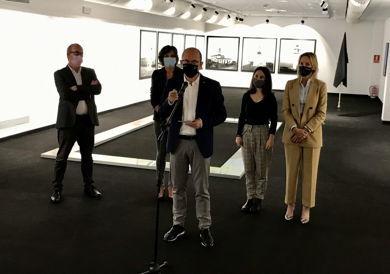 O Museo do Mar acolle a mostra de fondos propios do Centro Galego de Arte Contemporánea