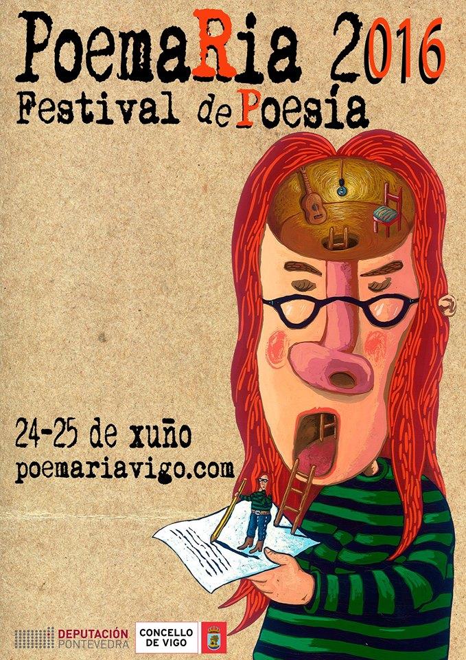 Vigo estrea festival de poesía
