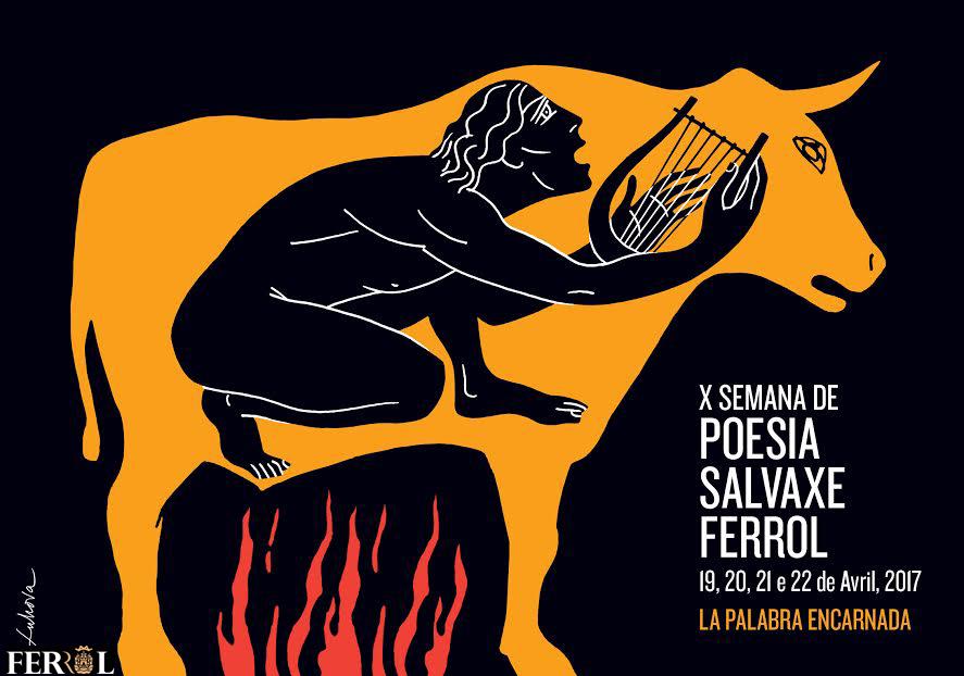 A Semana de Poesía Salvaxe fai dez anos en Ferrol