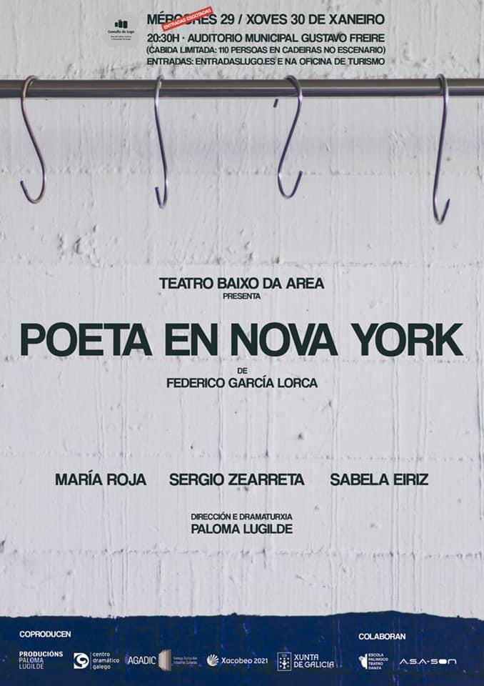 Teatro Baixo da Area adapta o <i>Poeta en Nova York</i> de Lorca