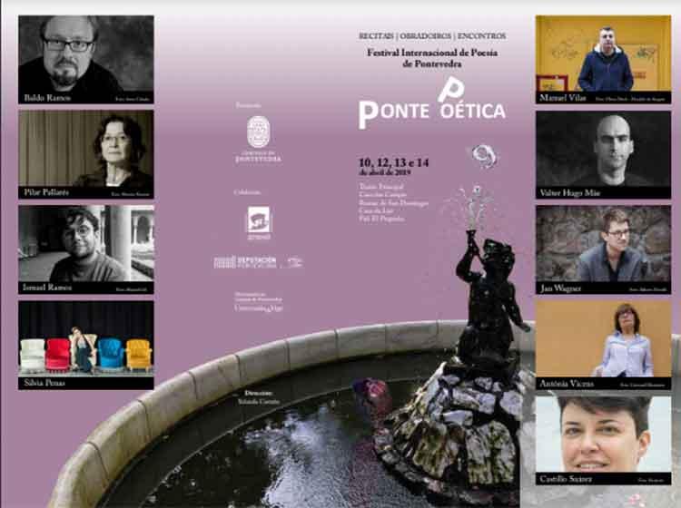 Manuel Vilas, Valter Hugo Mâe, Jan Wagner, Antònia Vicens, Baldo Ramos ou Pilar Pallarés participan no encontro