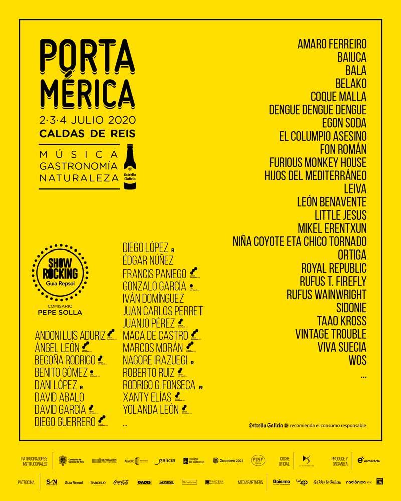Rufus Wainwright, Royal Republic e Vintage Trouble encabezan un cartel con presenza galega e latinomericana