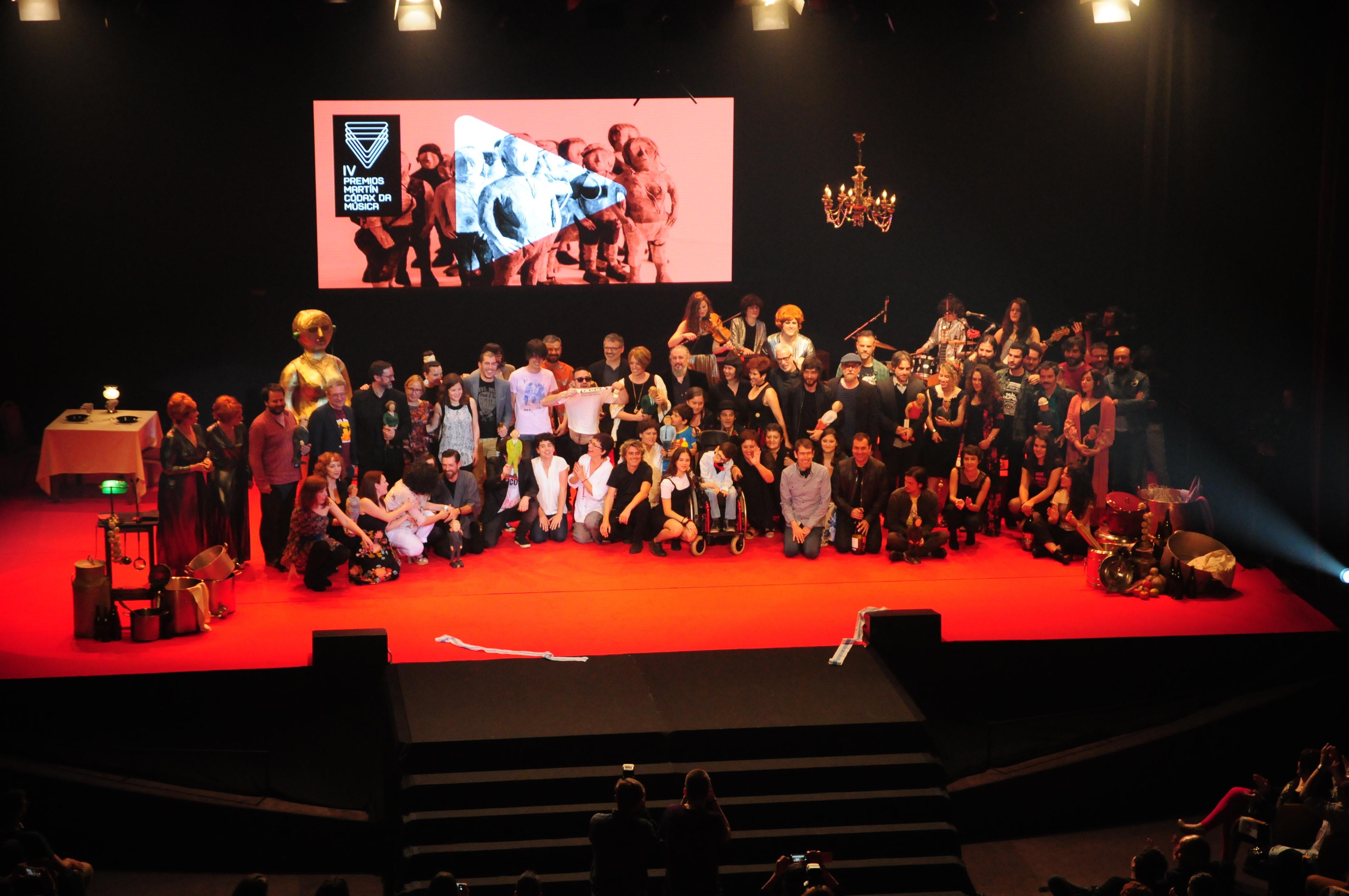 Novos nomes e discos recentes marcan a lista de galardoados nos IV Premios Martín Códax da Música