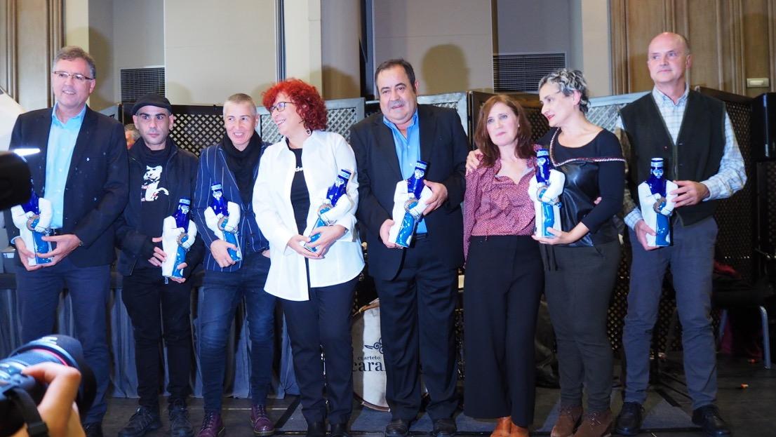 Tamén foron recoñecidos Javier Alonso de la Peña, a Mostra Internacional de Teatro Cómico de Cangas, Álvaro Lago e Boaga