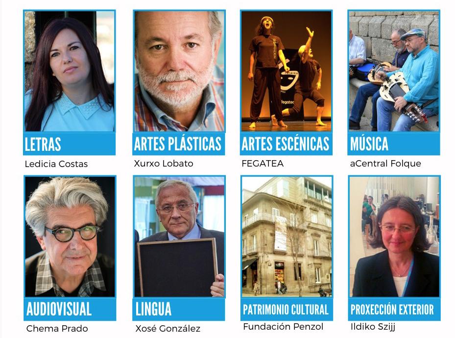Ledicia Costas, Xurxo Lobato e aCentral Folque entre os premiados