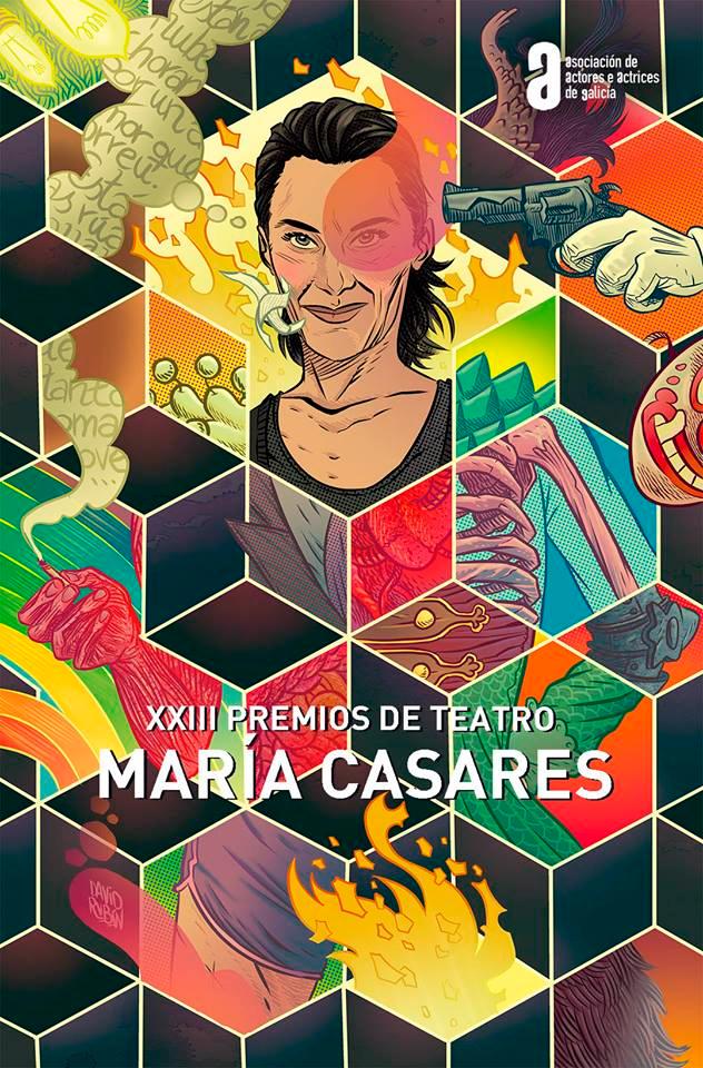 A 'Commedia' de Cándido Pazó aspira a doce galardóns nos XXIII Premios de Teatro María Casares