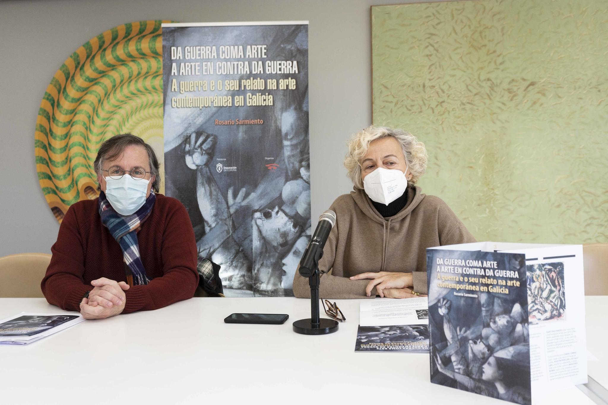Rosario Sarmiento coordina <i>Da guerra como arte á arte en contra da guerra</i>