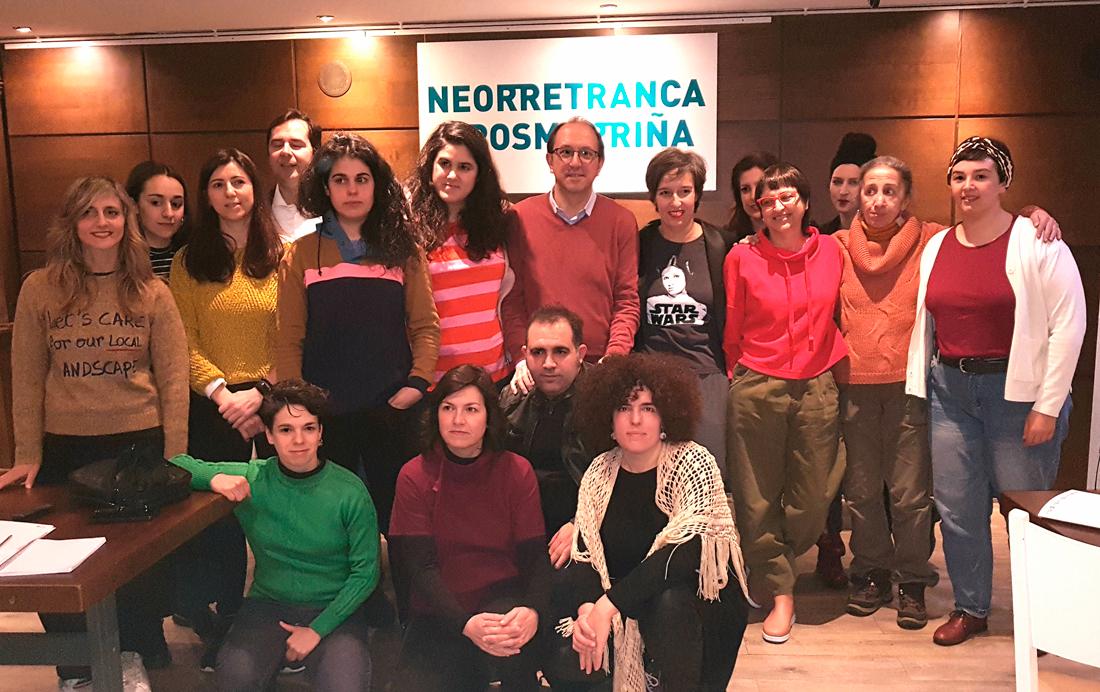 O CDG estrea 'Neorretranca e posmorriña' a obra xurdida de dous textos de Roi Vidal e Esther F. Carrodeguas