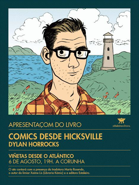 O volume compila cinco historias curtas do neozelandés Dylan Horrocks